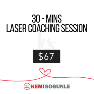 30 minutes laser coaching session