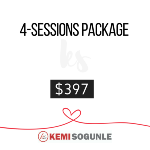 4 sessions coaching package at $397