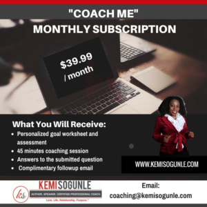 Coach Me Monthly Subscription Package