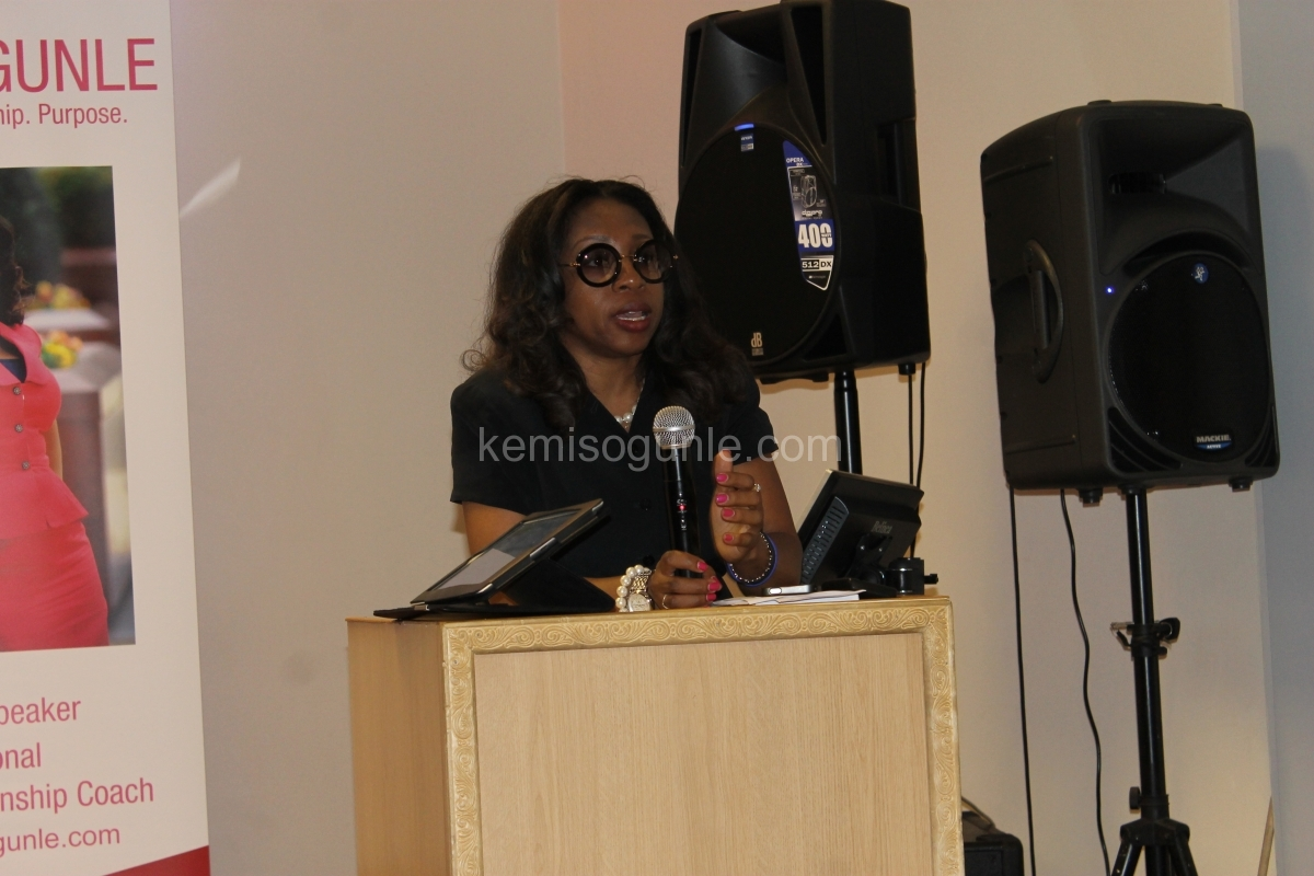Day 1 - Kemi Speaking at A Weekend of Love, Sex, Lies and Reality