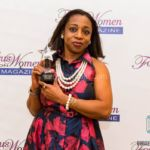 """Kemi Sogunle received the Star Award from Focus on Women Magazine for her book, """"Love, Sex, Lies and Reality."""""""